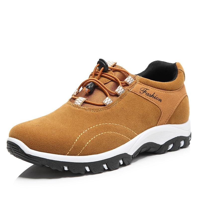 Les Hommes En Daim Chaussures De Randonnée Antidérapantes 8MibVFbe