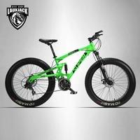 Lauxjack 26 4 0 Mountain Bike Double Disc Type And SUV 24 Bike Speed