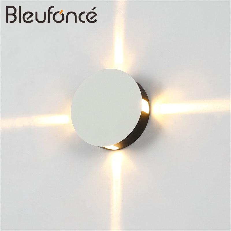 תאורת LED חיצונית מנורת קיר 3W / 6W / 9W / 12W - תאורה פנימית