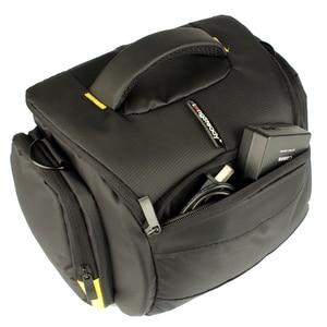 Image 2 - Bolsa de hombro para cámara DSLR, resistente al agua, para Nikon D3300, Canon, 200D, Pentax, Sony, Fujifilm, XE3, Olympus