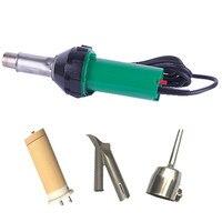 1600W 110V PLASTIC HOT AIR WELDING GUN WELDRE +110V heating elemet+2 pcs nozzles heat gun accessories Flooring welding tools