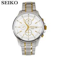 Seiko Watch Premier Series Sapphire Chronograph Quartz Men S Watch SNAF24P1