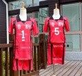 Haikyuu! Nekoma Escuela Secundaria No. 5 Kenma Kozume Cosplay Equipo de Voleibol Jersey N ° 1 Kuroo Tetsurou Ropa Deportiva Uniforme