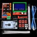 Kit Mega 2560 R3 + 1 pcs RAMPAS de Impressora 3D 1.4 controlador + 5 pcs A4988 Stepper Módulo Driver + LCD12864 Controlador para RepRap