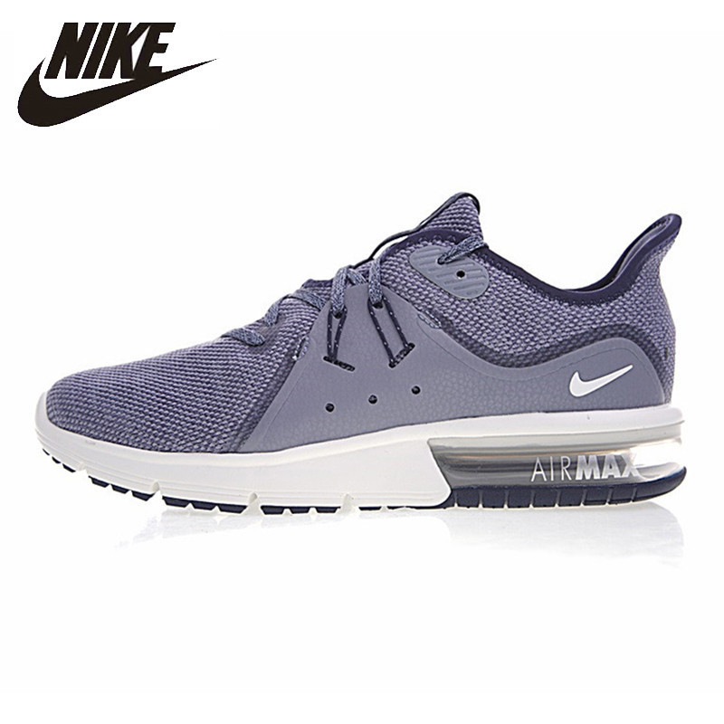 купить NIKE AIR MAX SEQUENT Men's Running Shoes Outdoor Sneakers Shoes Shock Absorbing Breathable 921694-009 921694-402 по цене 6763.71 рублей