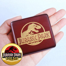 Sinzyo Handmade Wooden Jurassic Park Music Box Birthday Gift For Christmas,Birthday,custom engraved personalized gift(China)