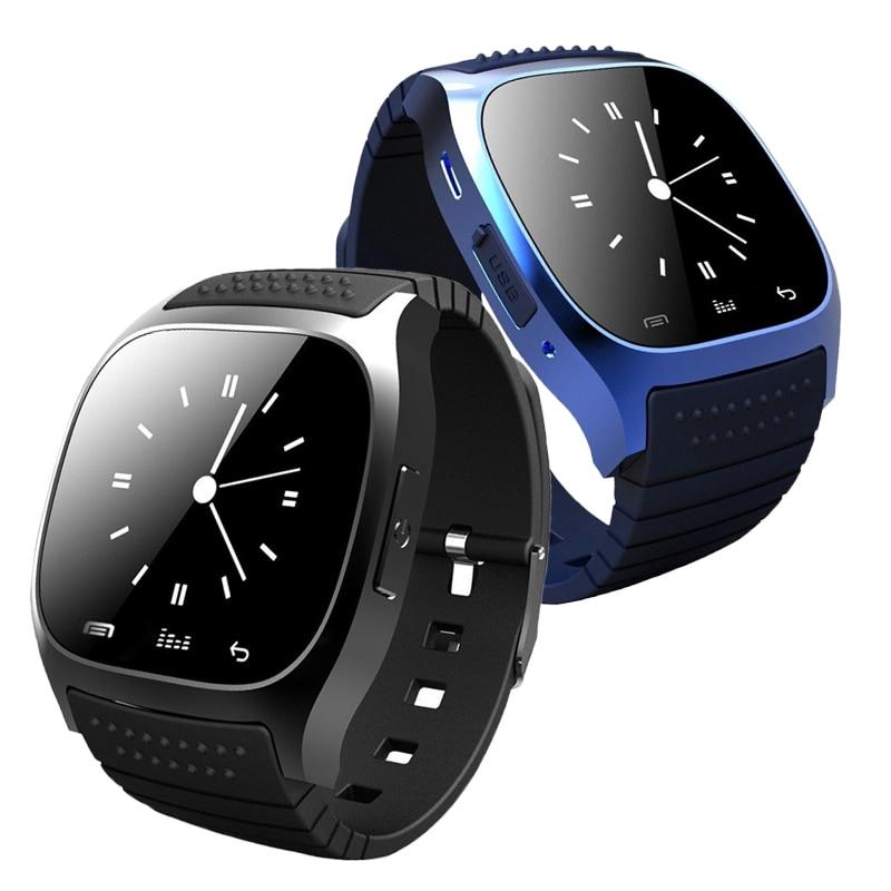 M26 Bluetooth Montre Smart Watch montre-bracelet smartwatch avec Cadran SMS Rappeler Musique Lecteur Podomètre pour Android Samsung Smartphones