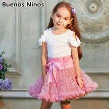 Детские юбки-пачки из одноцветной сетчатой ткани для девочек 1-10 лет, юбка-американка принцессы для танцев, детское платье принцессы для дня рождения, детское платье принцессы с вуалью