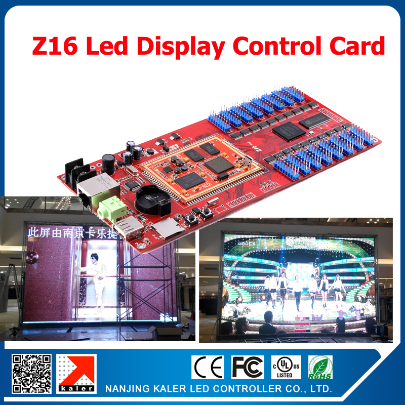 Kaler Z16 Led Display Control Card Asynchronous Video Control Card Kaler Led Display Accessories Led Controller