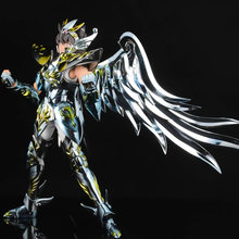 Tronzo Model GT Saint Seiya EX Pegasus Seiya Allah Kain Anime Versi Warna PVC Action Figure Metal Armor Model Patung mainan(China)