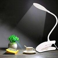 Lâmpada de mesa led lâmpada de mesa luz de mesa led lâmpadas de mesa flexo flexível led lâmpada de leitura com clipe ultra brilhante e economia energia|Luminária de mesa| |  -