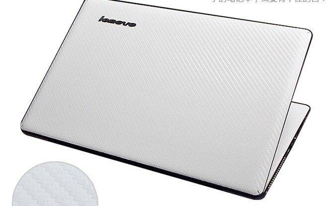 Специальные виниловые наклейки для ноутбука из углеродного волокна для ASUS G75 G75VW G75VX 17,3 дюйма - Цвет: White Carbon fiber