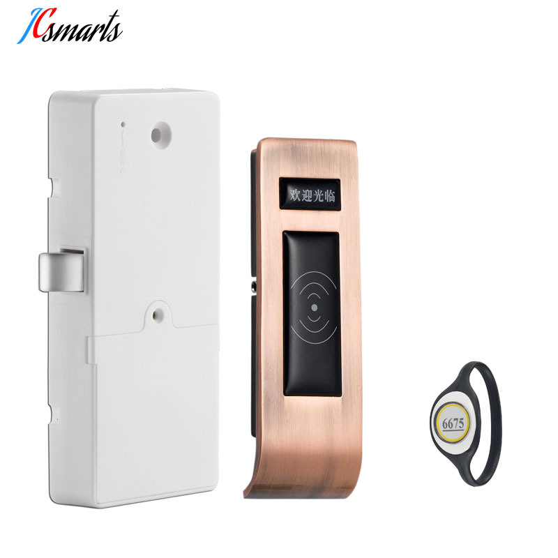 Smart RFID Digital Lock Sauna Locks For Spa Swimming Pool Gym Electronic Cabinet Lock Lockers Lock wristband Key