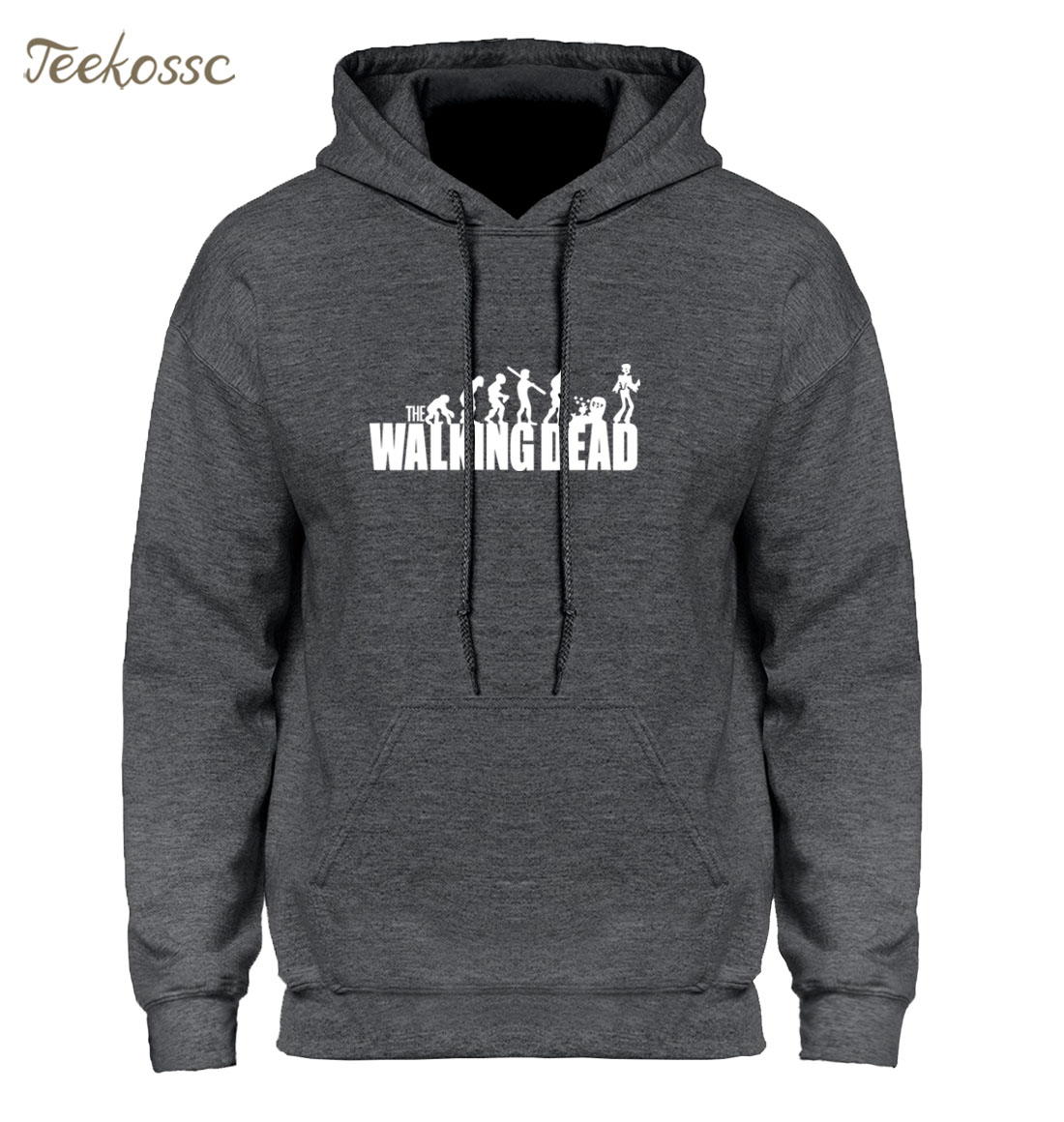 The Walking Dead Men Hoodie Hoodies Sweatshirt 2018 New Fashion Winter Autumn Hooded Hoody Hip Hop Streetwear Hombre Mens Loose