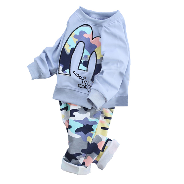 Baby Boy Clothes Kids Baby Girl Clothing Set Infant Clothing Toddler Boys Clothing Set Baby Girl Outfit 2016 New Fashion Cotton