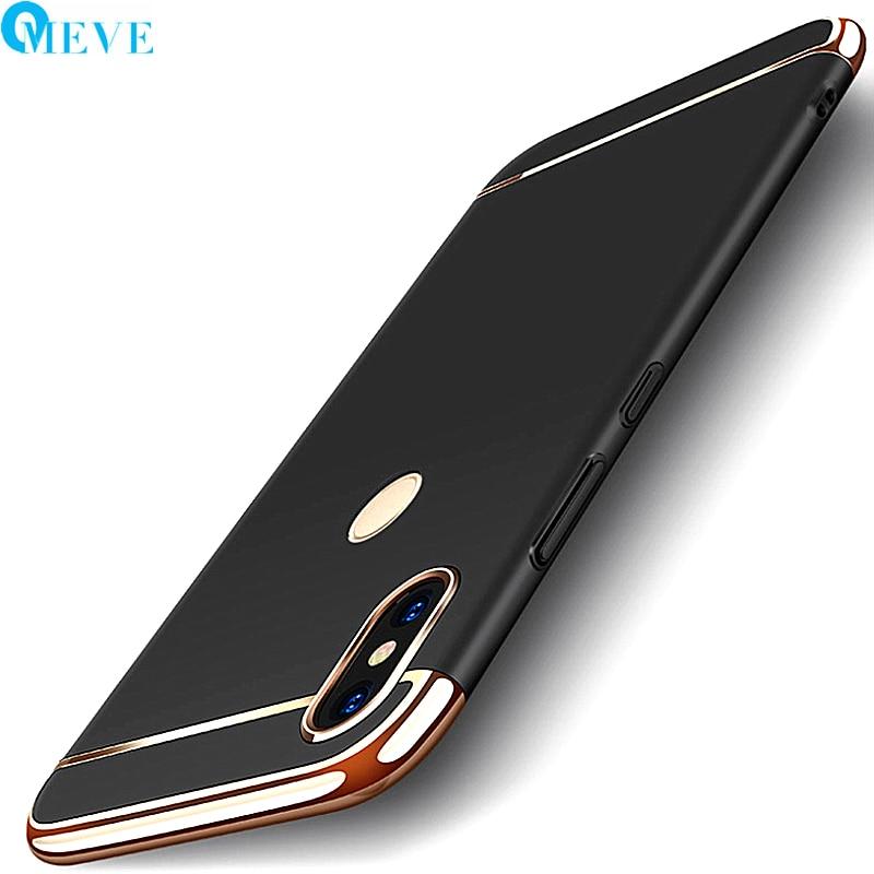 For Xiaomi Redmi Note 5 Case Note5 Pro Cases OMEVE Design 3 in 1 Matte Hard Plastic Back Phone Cover for Redmi Note 5 Coque