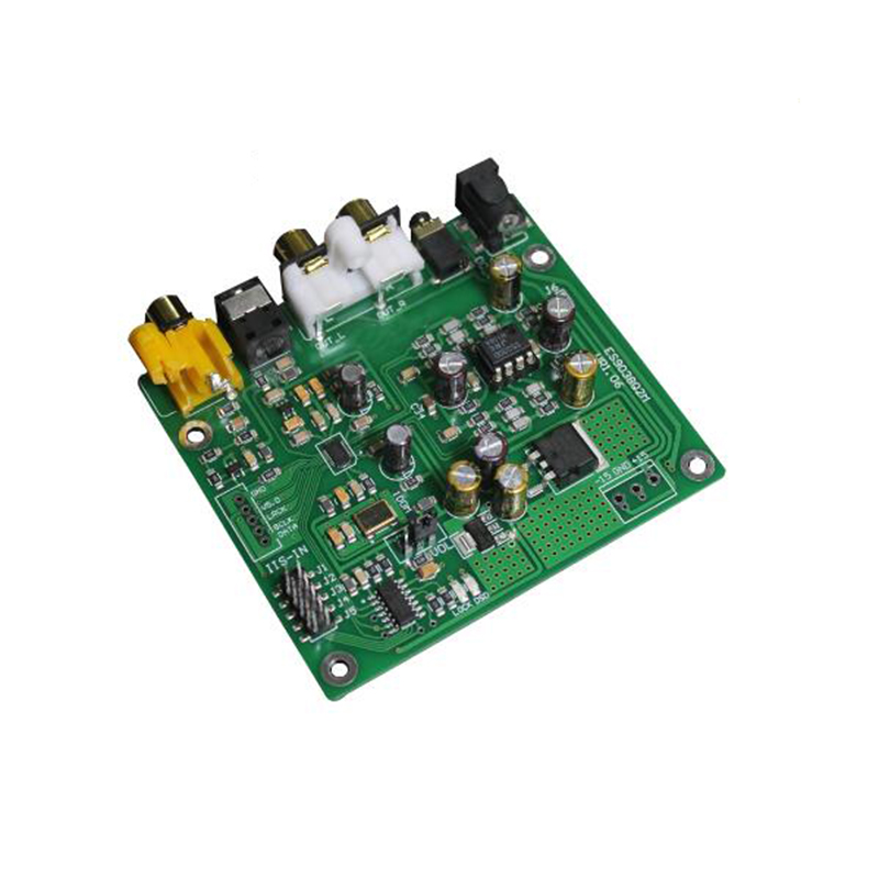 Image 4 - ES9038 Q2M I2S DSD Optical Coaxial IIS/DSD DOP 384KHz Input Decoder DAC Headphone Output Audio amplifier Board-in Amplifier from Consumer Electronics