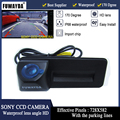 Автомобильная камера заднего вида FUWAYDA SONY CCD  ручка багажника для Skoda Roomster Fabia Octavia Yeti superb для Audi A1 HD