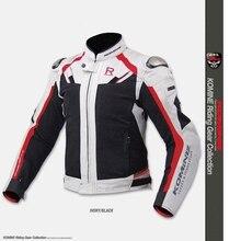 Frete grátis 1 pcs Homens Esportes Ao Ar Livre Equitação Da Motocicleta Locomotiva Roupas À Prova de Vento Jaqueta de Proteção com 7 pcs almofadas