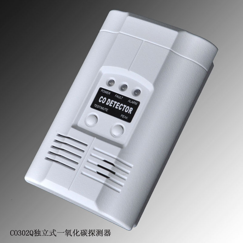 CO303 AC Wire-in Carbon Monoxide Alarm silent wire ac 44 ag powercord 1 5m