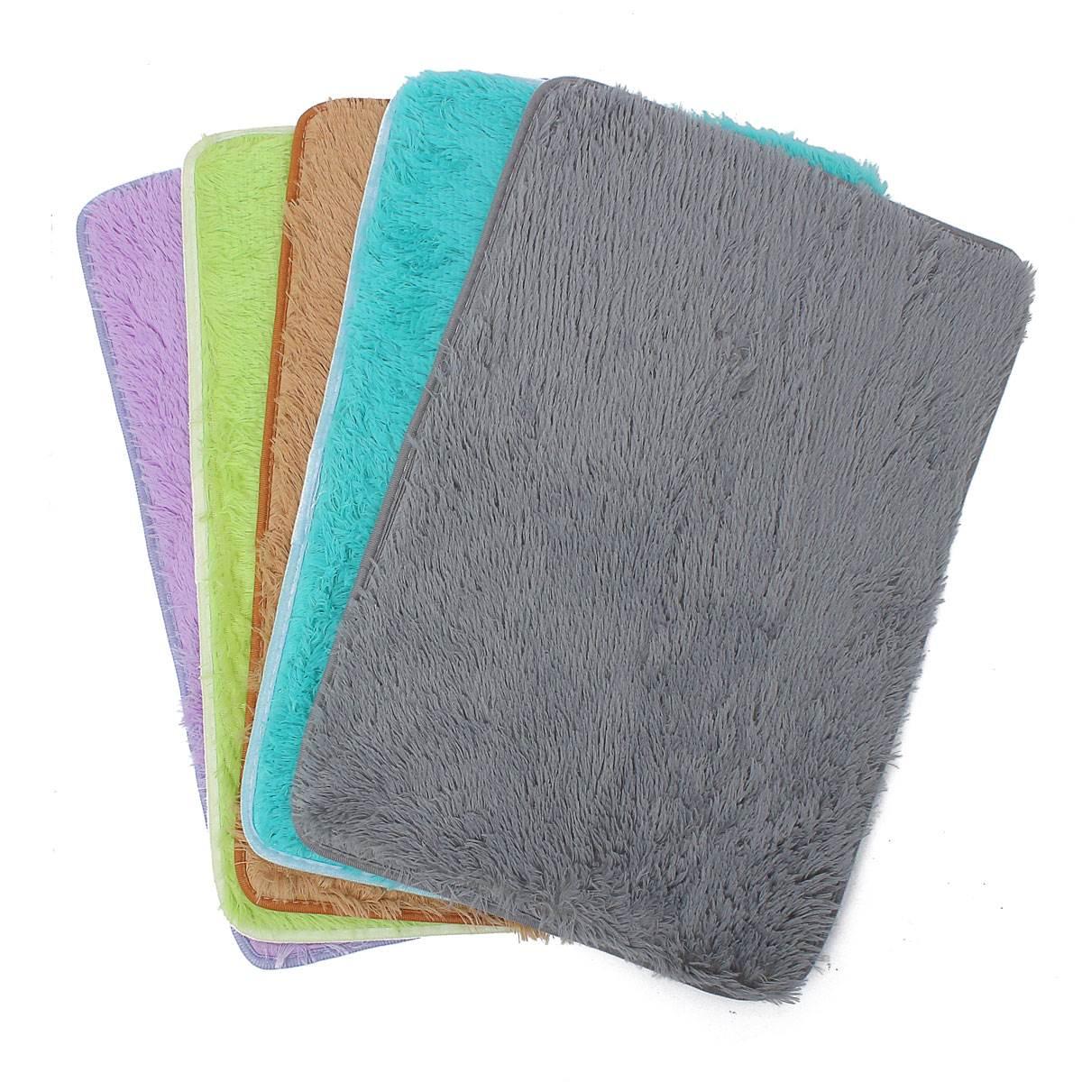 multi couleurs doux absorbant de bain slip reacutesistance fluffy chambre chambre tapis de - Tapie Salle De Bain Aliexpress