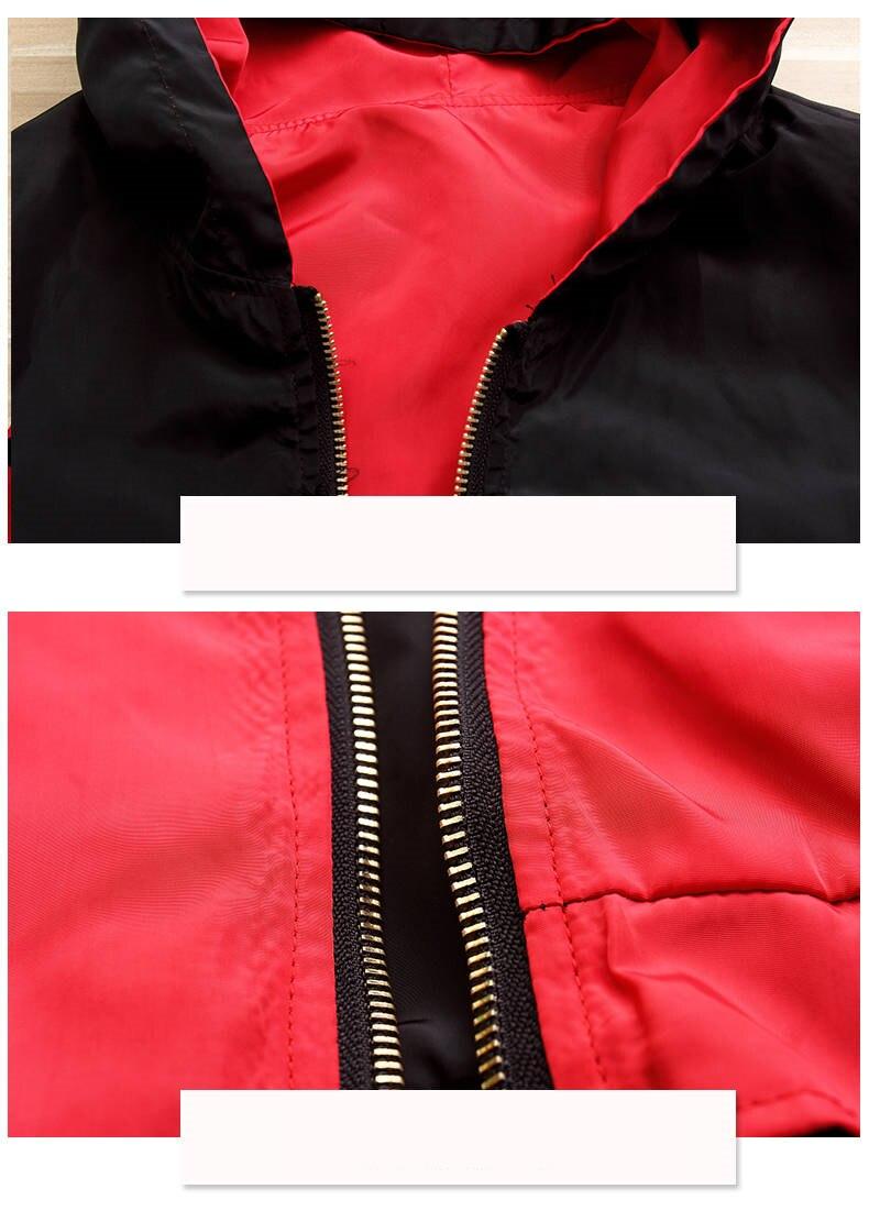 HTB16efcXBCw3KVjSZFlq6AJkFXa3 Windbreak Jacket Women Long Sleeve Hooded Coats Spring Autumn Casual Solid Zip Up Basic Jackets for Women