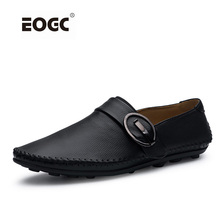 New Fashion Genuine Leather Men Shoes, Handmade Casual Shoes,Super Soft Driving Shoes