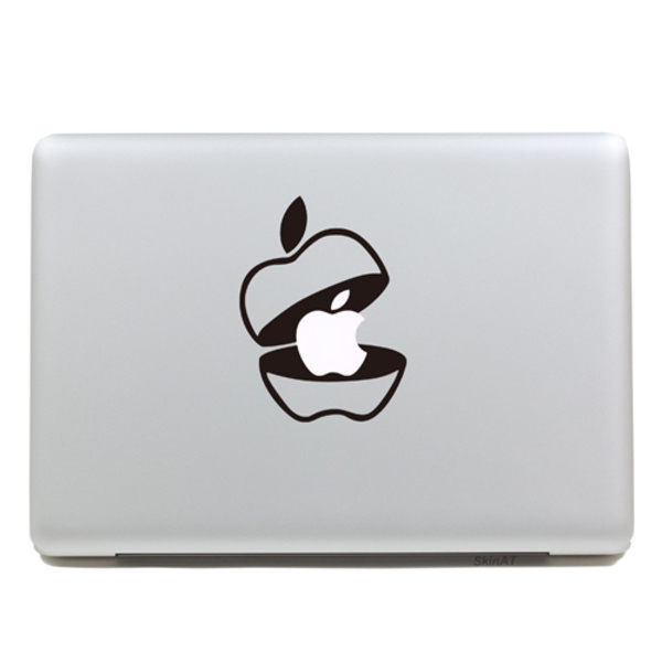 Fashion removable diy funny cute for apple cap tablet and laptop sticker for you tablet computer