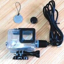 Nowe akcesoria do kamery sportowej Chargering wodoodporna obudowa ładowarka obudowa shell z kablem USB do Gopro Hero 4 3 + do motocykla