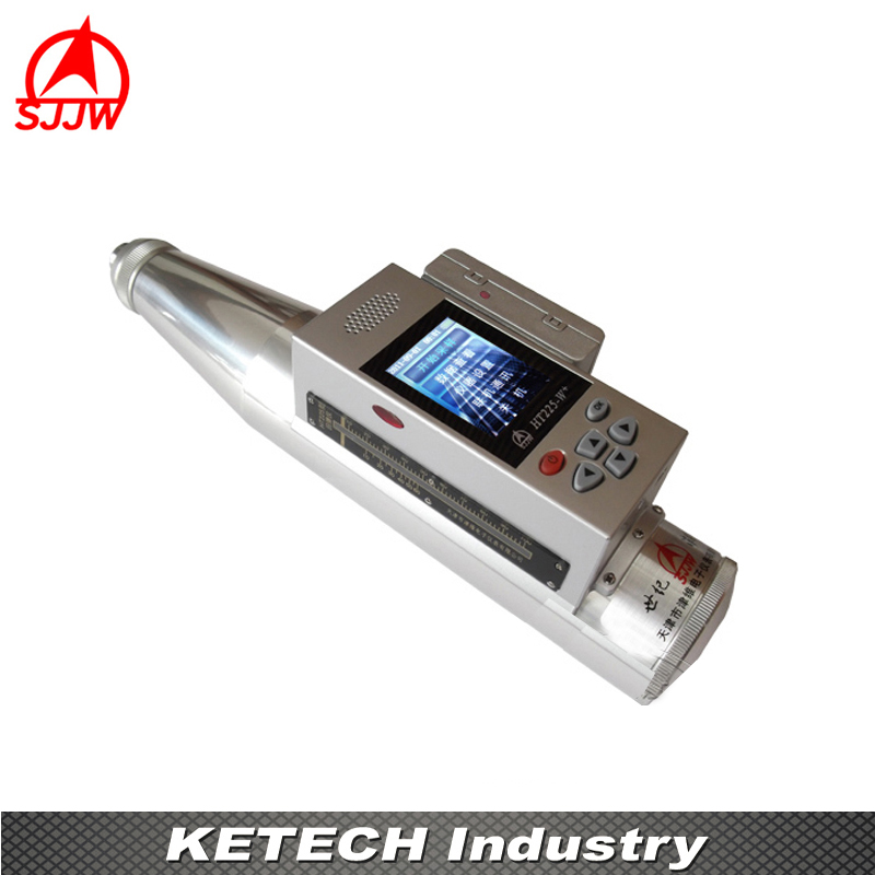 Marteau d'essai numérique vocal intégré de certificat de la CE, plages de mesure de marteau de rebond 10-60MPa (imprimante IR sélectionnable) HT225W +