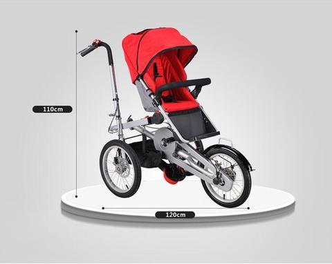 carrinho de bebe newbown conversivel push handle pode