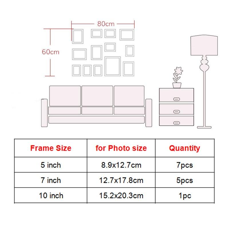 Aliexpress.com: Comprar 13 piezas marcos establecidos del marco ...