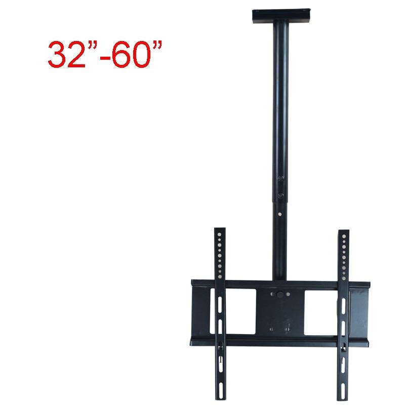 "32-60\"" Ceiling <font><b>TV</b></font> Mount 360 Degree Full Motion Free Lifting LCD LED Monitor Holder Max.60kgs Loading"
