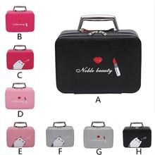 HB @ Maison fabre Портативный путешествия косметичка косметичку мини-кейс для косметики молнии для хранения лучший подарок для подруги