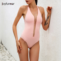 Red Pink Black New Sexy Summer Women Bodysuit Deep V Neck Sleeveless One Piece Suit Bandage