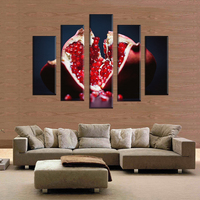 Five Version Of This Abstract Color Can Be Customized Box Print On Canvas Painting Home Decoration