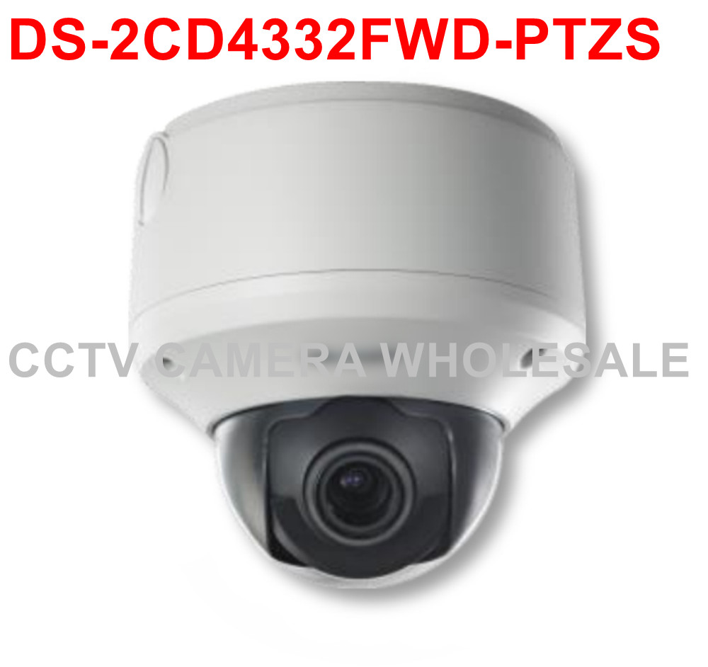 Free shipping DS-2CD4332FWD-PTZS 3 MP Smart PTZ Outdoor Dome IP security Camera support SD card recording cd диск fleetwood mac rumours 2 cd