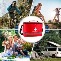 Nylon Striking Simbolo della Croce Ad alta densità Ripstop Sport Camping Home Medical Sopravvivenza Di Emergenza First Aid Kit Bag Esterna