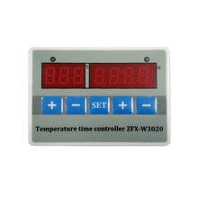 Digital Temperature Controller ZFX-W3020 With Heater And Cooler Adjustable Time Control