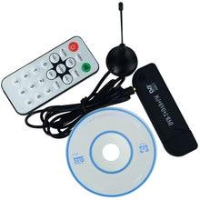 Newest Multi-Language HD Mini DVB-T Digital Signal USB 2.0 TV Stick With Remote Control mini dvb t digital tv usb 2 0 dongle stick w remote controller black