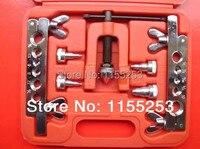 Brake Air Line Double Flaring Tool 10pc Kit Water Gas Line Automotive Plumbing