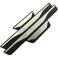Stainless Steel Door Sill Scuff Plate Guard Welcome Pedal for Mitsubishi ASX 2011 to 2014 2015 2016 2017 Car Styling Accessories
