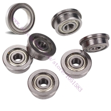 3D Printer Kossel mini Bearings set 6x F623ZZ flanged bearings 1x 625zz ball bearings