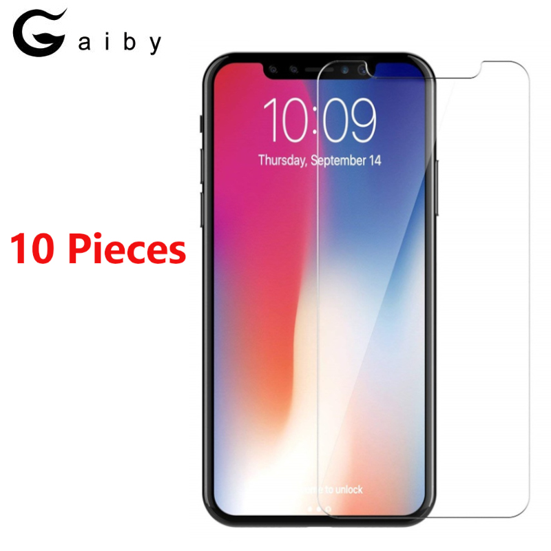 10 Pieces Tempered Glass For iPhone 6 6S 7 8 Plus X XS MAX XR 5 5S Screen Protector Film For iPhone 5S 5C SE Anti-scratch Glass10 Pieces Tempered Glass For iPhone 6 6S 7 8 Plus X XS MAX XR 5 5S Screen Protector Film For iPhone 5S 5C SE Anti-scratch Glass