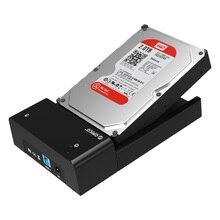 orico 6518us3 Mobile hard disk box usb3.0 hard disk box 3.5 / 2.5 inch serial SATA hard drive base Support 8TB