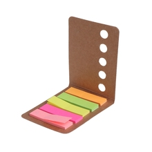 5 Pads/Pack Kraft Paper Cover Candy Color Sticky Notes Page Marker Index Tabs  Sticky Notes платье ёмаё page 5 href page 5