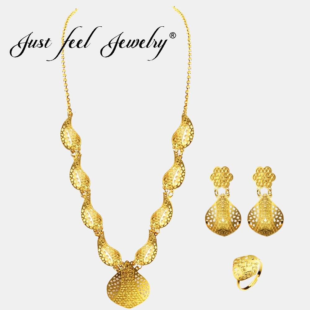 2018 India Jewelry Dubai Gold Jewelry Women Fashion: Aliexpress.com : Buy Just Feel 2018 India Fashion Wedding