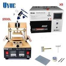 UYUE Screen Repair Machine Set 5 In 1 Screen Separator Machine+OCA Vacuum Laminating Machine+Cutting Wire Free Shipping S500L+X5