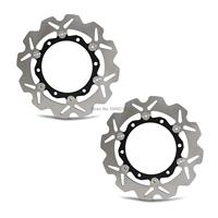 New Motorcycle Front Rotor Brake Disc For Yamaha XP 500 T Max XP 530 Black Max