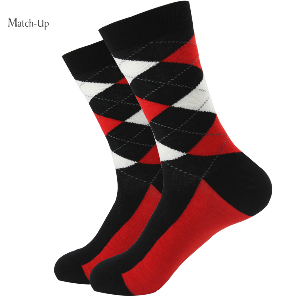 282f2a4a0308b Limited Socks Wholesale New styles ARGYLE SOCK men s brand Combed ...